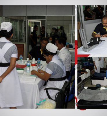 SolTrim Hosts Blood Donation Campaign - 2015