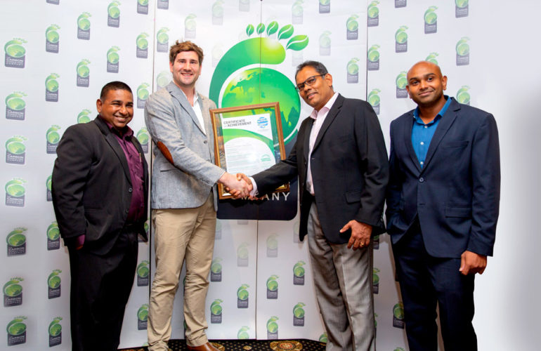 SolTrim International Became Asia's First CarbonNeutral® Label Manufacturer